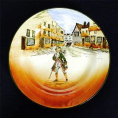 Old world ROYAL DOULTON series ware DICKENS PLATE depicting 'BARNABY RUDGE' 1925 | eBay