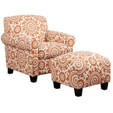 Modern Accent Chairs Allmodern Chair And Ottoman Set Upholstery Tufted Sofa Wingback