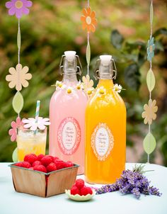 If you're hosting a summer event, whether it's an evening barbecue, children's party or garden party, then you can create an even nicer atmosphere with the free garden party printables from Party Drinks Alcohol, Party Food And Drinks, Party Food Platters, 3rd Birthday Parties, Birthday Drinks, Summer Birthday, Garden Parties, Halloween Food For Party, Party Entertainment