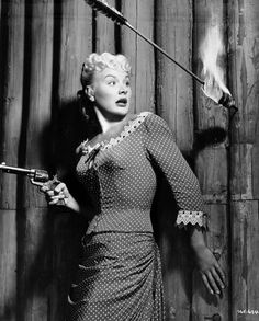 Barbara Payton in Only the Valiant (1951)