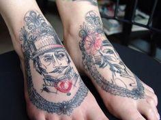 150 Eye Catching Foot Tattoo Designs nice