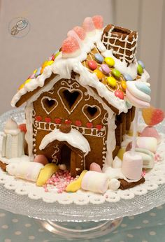 Gingerbread houses - you put them together and then what? Eat them? Gross. Leave them sitting around all through Christmas? Gross.