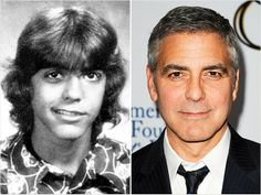 School photo of George Clooney as a teen