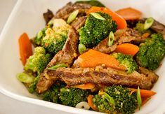 Spicy Beef Stir Fry with Broccoli and Orange - Click for Recipe