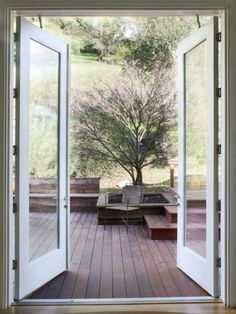 Furniture Pics: Patio Door With Modern Sliding Glass Door Design . Patio Door With Modern Sliding Furniture: Other Inspiration Of Moder. Blinds For French Doors, French Doors Patio, Windows And Doors, Exterior French Doors, Exterior Patio Doors, Modern Entry, Modern Patio, Modern Spaces, Door Steps