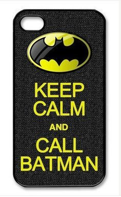 Keep Calm and Call Batman On iPhone 4 Case, iPhone 4s Case, iPhone 4 Hard Case, iPhone Case-graphic Iphone case