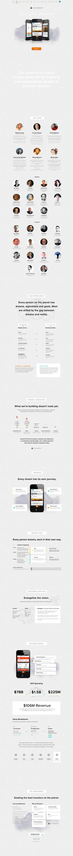 16 Best Pitch Decks images in 2013 | Info graphics, Infographic