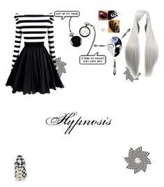 """Hypnosis"" by sorrowevermore ❤ liked on Polyvore featuring Dabuwawa, Cathy's Concepts and NOVICA"