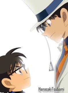Conan y Kaito Kid~ by HanasakiTsubomi