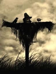 Traditionally, scarecrows were