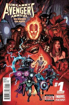 Browse the Marvel Comics issue Uncanny Avengers Annual Learn where to read it, and check out the comic's cover art, variants, writers, & more! Uncanny Avengers, Avengers 2012, The Avengers, The Uncanny, Marvel Now, Marvel Comics Art, Marvel Heroes, Cosmic Comics, Captain Marvel