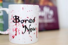 I want this!  Hand Painted Mug with Dark Willow Buffy Quote by abirdinthehand, $15.00