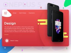 Oneplus Landing Page designed by Jegadhalayan. Connect with them on Dribbble; Website Header, Information Overload, Landing Page Design, Social Media, Shots, Colors, Social Networks