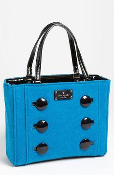 kate spade new york 'pilgrim hill - quinn' handbag available at Nordstrom Fall Handbags, Kate Spade Handbags, Kate Spade Purse, Black Handbags, Purses And Handbags, Purse Styles, Best Bags, Fabric Bags, Vintage Purses