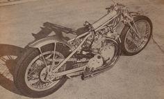 Vintage Drag Bikes, gotta love them !   CB750Cafe.com