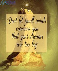 #quoteoftheday #quotestoliveby #quotes #quote #dream #dreams #dreamscometrue  http://spiritualexperience.eu/