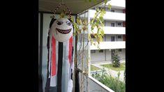 DIY - Halloween Geist Laterne - Halloween Laterne basteln Diy Halloween Ghosts, Halloween Decorations, Halloween Geist, Handicraft, Dream Catcher, Lanterns, Balloons, Outdoor Decor, Crafts