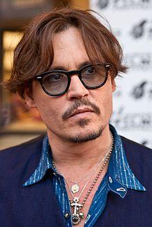 Johnny Depp en 2011 à une avant-première de Rhum express.