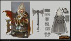 ArtStation - Total War Warhammer - Grombrindal the White Dwarf Concept, Rinehart Appiah