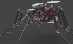 3D Modelling | 3D Rendering | 3D Texuring | 3D Printing | Graphic Design - Robo Mosquito on ArtStation at https://joshmccann.art/projects/Y6X83#