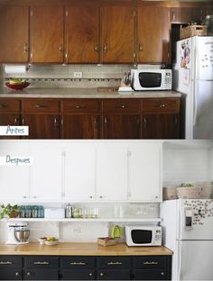 Ideas for home diy renovation kitchen reno Old Kitchen, Rustic Kitchen, Country Kitchen, Kitchen Ideas, Kitchen Inspiration, Spanish Kitchen, Kitchen Signs, Kitchen Modern, Beautiful Kitchens