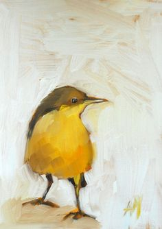 little bird painting