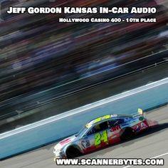 Jeff finishes 10th at Kansas for the Hollywood Casino 400.  #nascar #jeffgordon #kansas