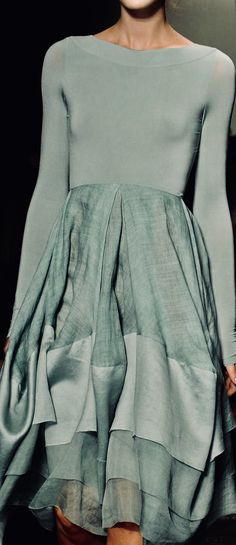 Shades of Pale Green Color Shades, Shades Of Green, Green And Grey, Mint Green, Couture Fashion, Fashion Art, Evening Outfits, Teal And Gold, Pantone Color