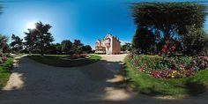 Granville : le parc et la maison de Christian Dior  -  France © Pascal Moulin