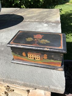 Old Boxes, Painted Boxes, Buckets, World Cultures, Display Ideas, Old And New, Folk Art, Primitive, Trunks