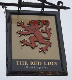 Pub Sign Art a la cARTe: The Red Lion - Wokingham, Berkshire