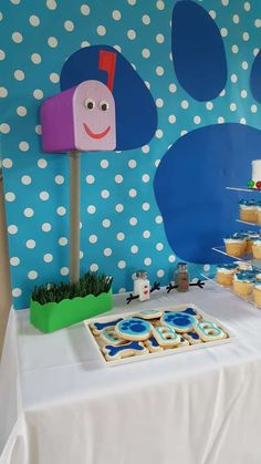 Braxton's 2nd Blues Clues Birthday Party | CatchMyParty.com