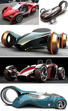 Back To The Future: 29 Thrilling Concept Cars   WebUrbanist