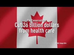 Canadians know that taking care of each other means taking care of our health, yet the Harper Conservatives have buried a $36 billion dollar cut to health care in their budget's fine print. The Harper Conservatives: They won't be there for you. http://www.notthereforyou.ca/