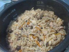 Chicken & Mushroom Rice Recipe   Japanese Recipes   Japan Food Addict