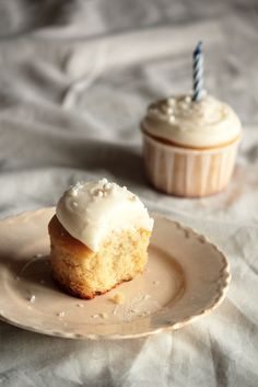 This reliable, light, and moist vanilla cupcake recipe took me two years to track down. It's a keeper.