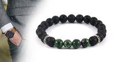 Elegáns vagyok ásvány karkötő a következő ásványokat tartalmazza: Rubin Zoizit, Lávakő. #bracelet #bracelets #ásványkarkötő #ásványékszer #karkötő #férfikarkötő #jewelry Jewelry, Bracelets, Men, Fashion, Moda, Jewlery, Jewerly, Fashion Styles, Schmuck