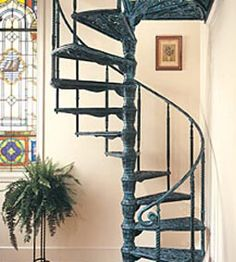 Best Inspiration For The Miniature Cast Iron Spiral Staircase 640 x 480