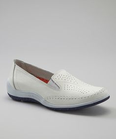 Take a look at this White Snoopy Slip-On Shoe by CC Resorts on #zulily today!