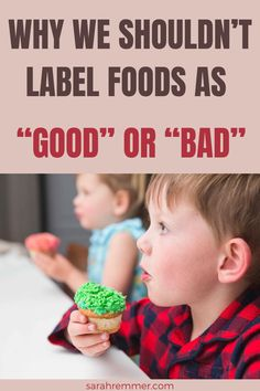 """When we put labels on food it leads to restriction in our diet. We have learnt from society that certain foods are """"bad"""" and therefore feel guilty and shameful when we consume those foods. Here is why I disagree with labeling foods as """"good"""" or """"bad"""" and how you can move towards enjoying food again! #intuitiveeating #mindfuleating #badfoods"""
