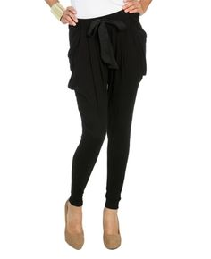 Just bought these!   Solid Jogger Bow Pant from WetSeal.com
