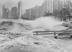 Storm on Chicago's Lakefront