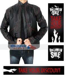 Limited Time Halloween Sale! Captain America Sebastien Stan Bucky Barnes Jacket with up to 31% discount along free worldwide shipping.  Buy now Here:  #CaptainAmerica #SebastienStan #BuckyBarnes #LeatherJacket #black #HalloweenStore #HalloweenFun #costume #boysFashion #halloweencostume #halloweenfashion #lushoween #classy #irememberhalloween #maleFashion #jacket #Celebrity #Shopping #onlineshopping #styleatanyage #clothes #gentleman
