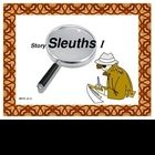 STORY SLEUTHS I is a 4 week, critical thinking project based on Caldecott Award winning books. Perfect for enrichment and HOTS.  $