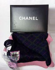 100% Authentic CHANEL Scarf Cashmere/Alpaca/Silk Large Multi-color BNWT