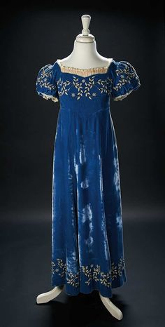 """Love, Shirley Temple, Collector's Book: Lot # 495: Blue Velvet Gown Worn by Shirley Temple in the Film """"The Blue Bird"""""""