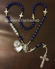 A personal favorite from my Etsy shop https://www.etsy.com/listing/288019541/military-rosary