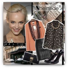 """""""Leather fall"""" by pribortolon on Polyvore"""
