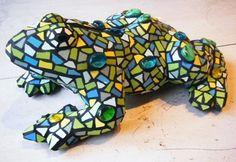 frog mozaiek