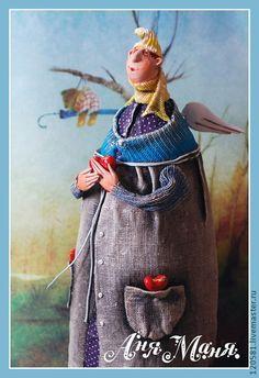 """авторская кукла """"Ангел Савушка"""" - ангел,подарок,День Святого Валентина"""